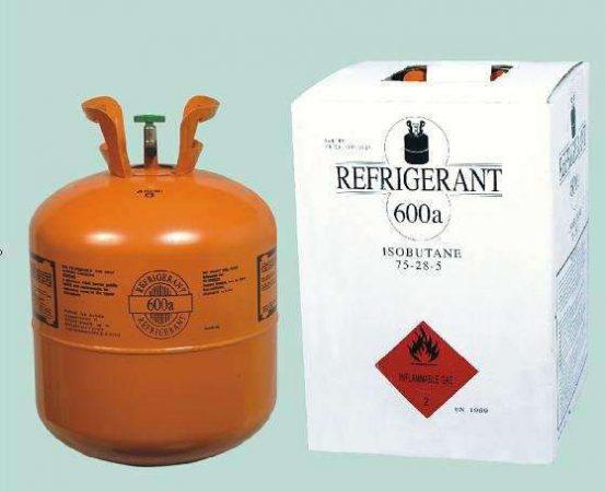 Các loại gas trong tủ đông_R600a