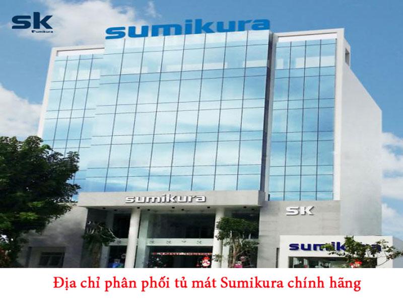 phân phối tủ mát sumikura