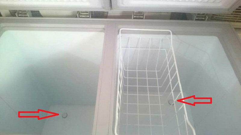 tủ đông sumikura bị chảy nước