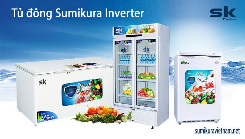 tủ đông sumikura inverter