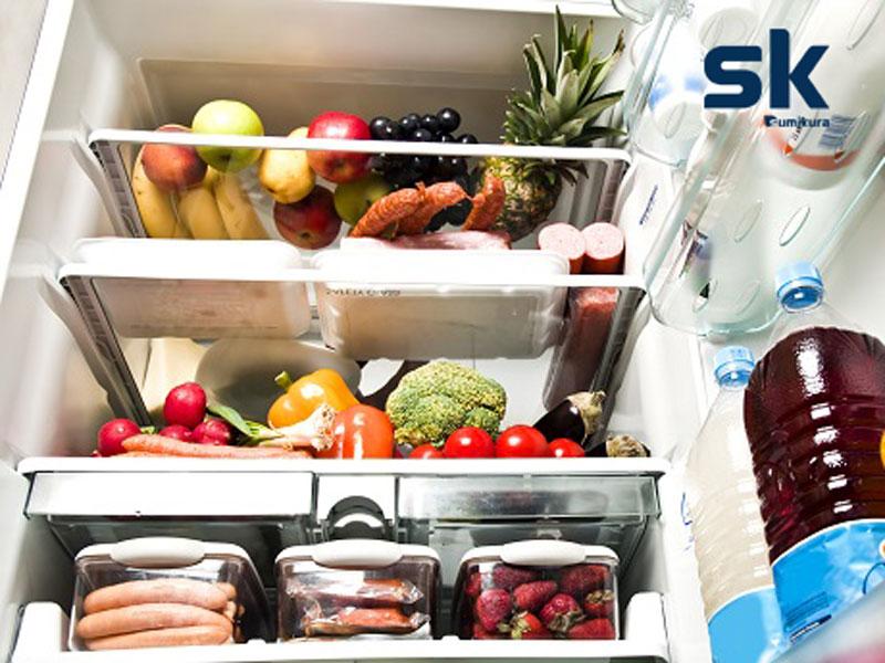 tủ lạnh bị chảy nước
