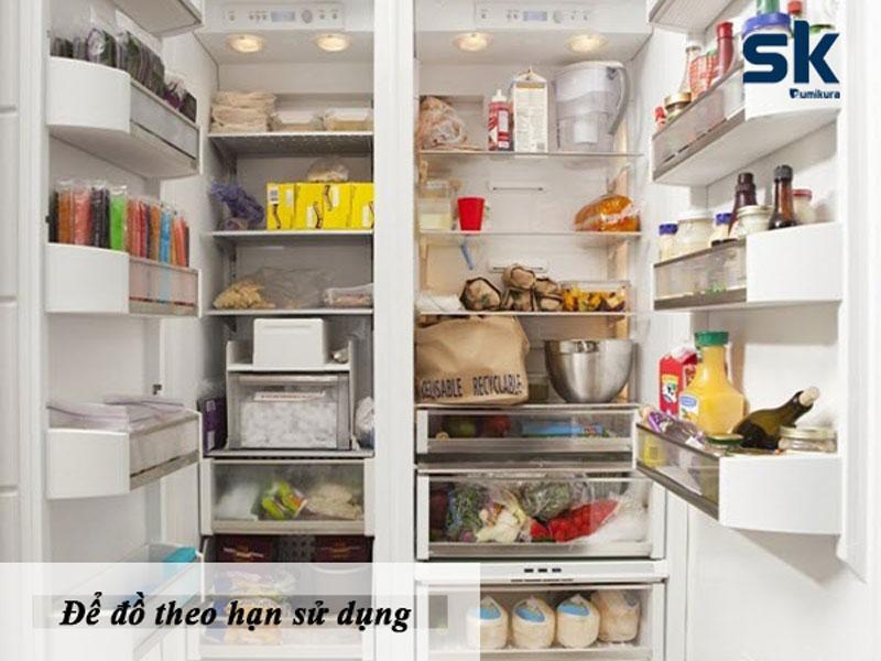 sắp xếp thực phẩm thông minh