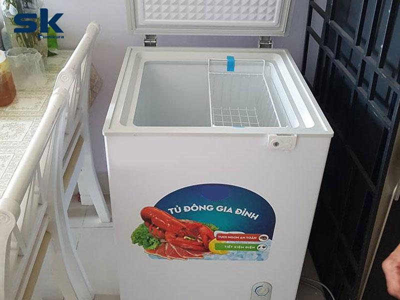tủ đông mini