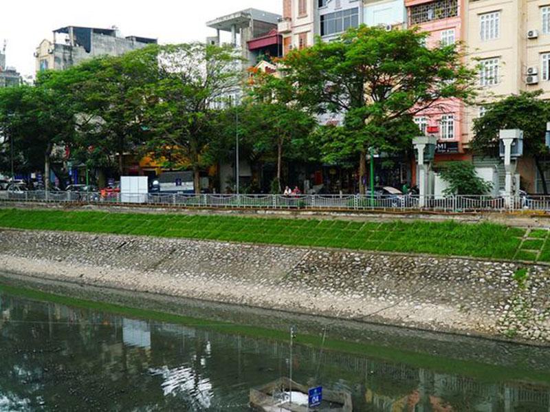 công nghệ lọc nước Nhật làm sạch sông Tô Lịch