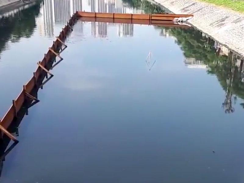 Thử nghiệm làm sạch sông Tô Lịch