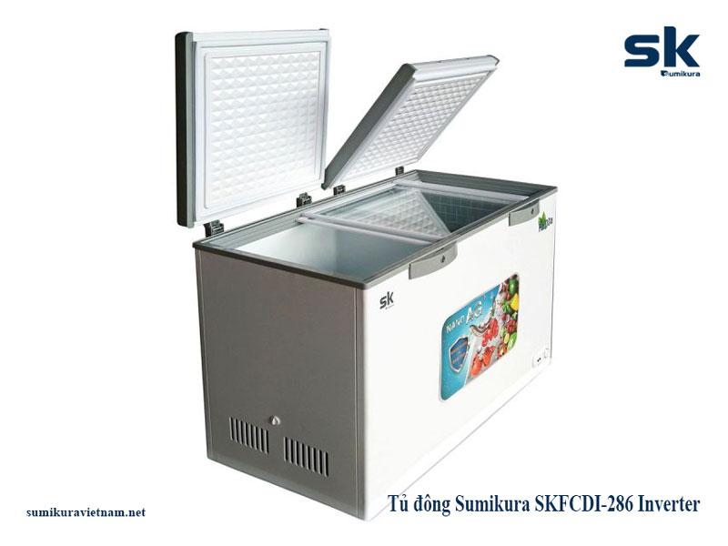 top tủ đông sumikura tiết kiệm điện