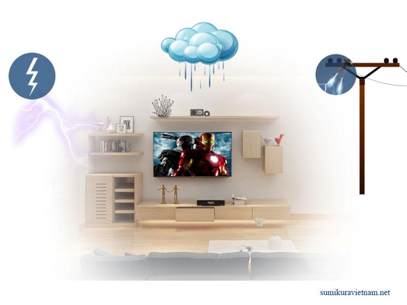 thiết bị điện dễ trục trặc vào mùa mưa