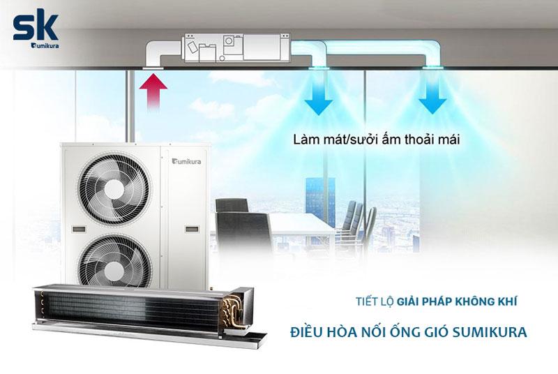 Điều hòa âm trần nối ống gió Sumikura ACS/APO-H600