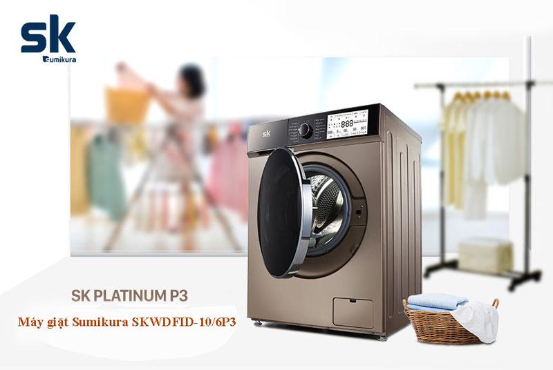 Có nên mua máy giặt lồng ngang SK SKWDFID-106P3