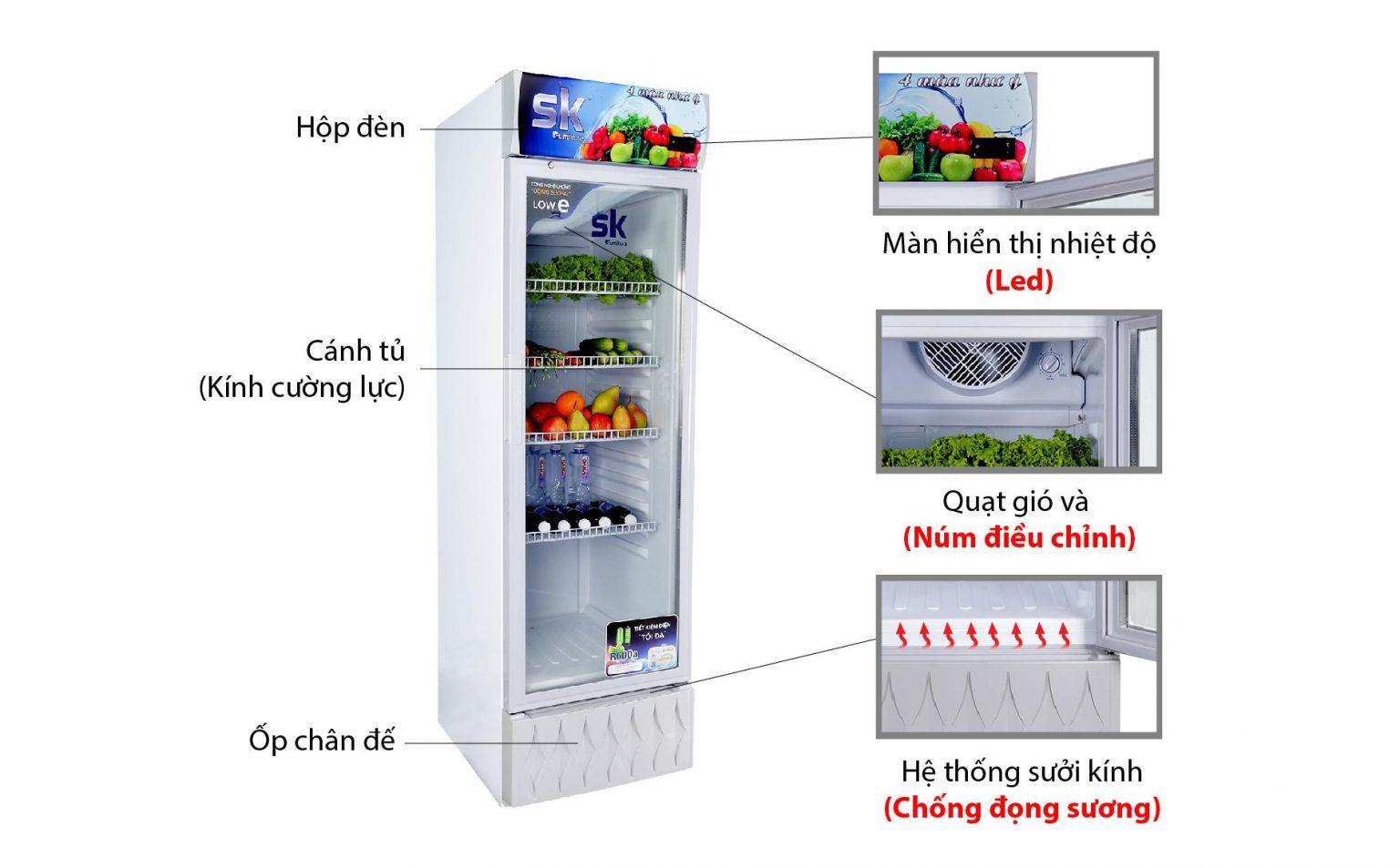 tủ mát sumikura