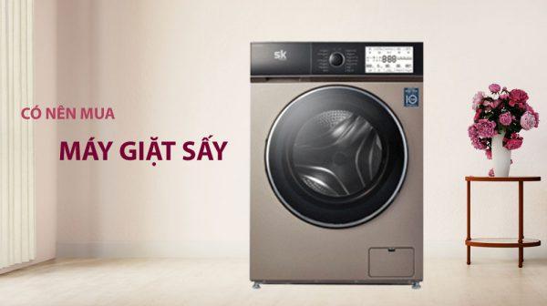 có nên mua máy giặt sấy