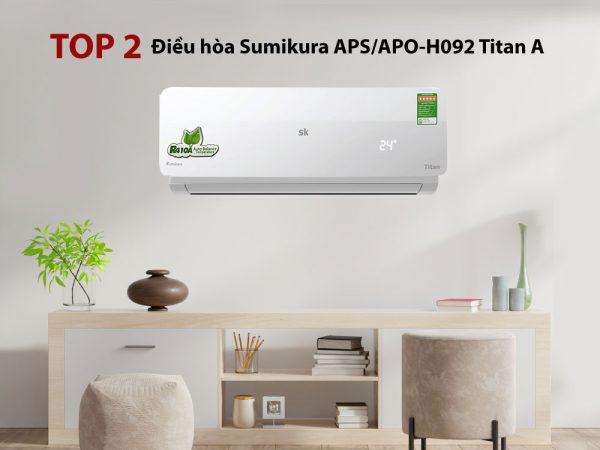 Điều hòa Sumikura APS/APO-H092 Titan A 9000BTU 2 chiều gas R410A