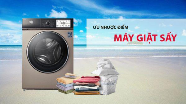 Có nên mua máy giặt sấy không