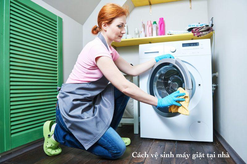 vệ sinh máy giặt định kì