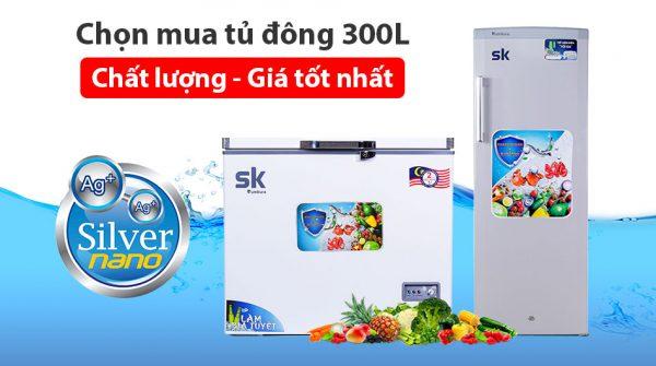 chọn mua tủ đông sumikura